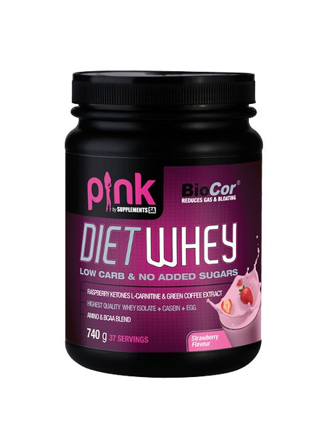 Pink Diet Whey 740g Vanilla [Supplements SA]