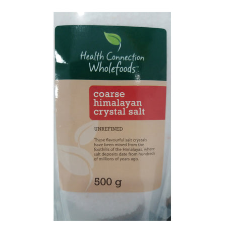 Himalayan Salt Coarse 500g [Health Connection]