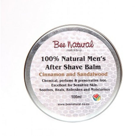 100% Natural Men's After Shave Balm 100ml [Bee Natural]
