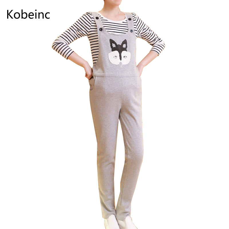 C14 افرول حمل   Maternity Overalls Strap Trousers For Pregnant Women