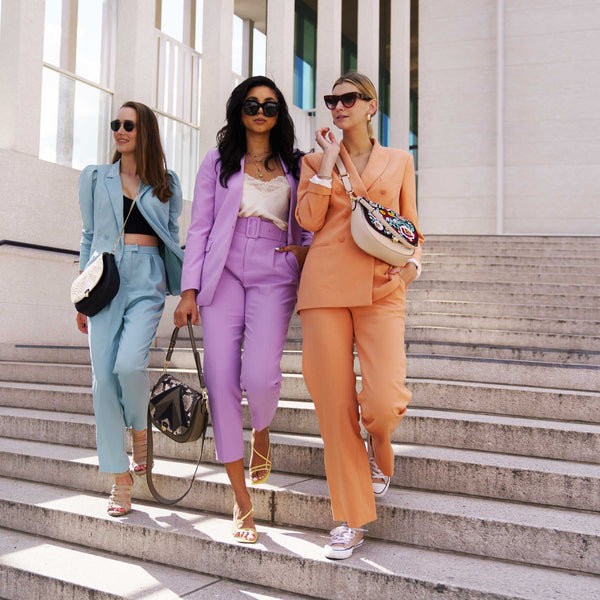 ZOÉ LU - Colour-Blocking - Styling Tipps