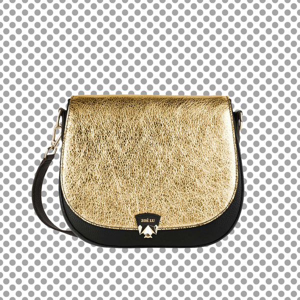 Taschenset, bag Night Out in gold