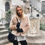 Look mit Tasche Blue hour, Outfit, Winter, ZOÉ LU