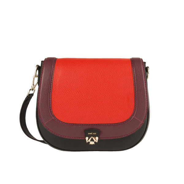 Tasche French kissing in rot