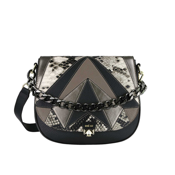 Tasche Freaky Friday im metallic-mix mit Pimp Up