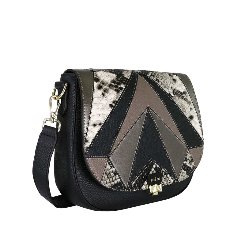Tasche Freaky Friday Schlangenprint