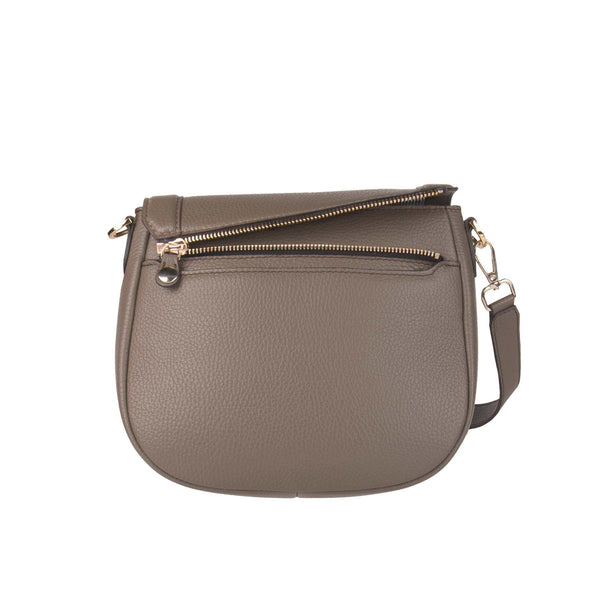 Basis Bag Body Best Buddy mit offener Wechselklappe in taupe