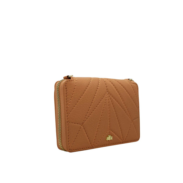 Wallet - One for the Money - cognac