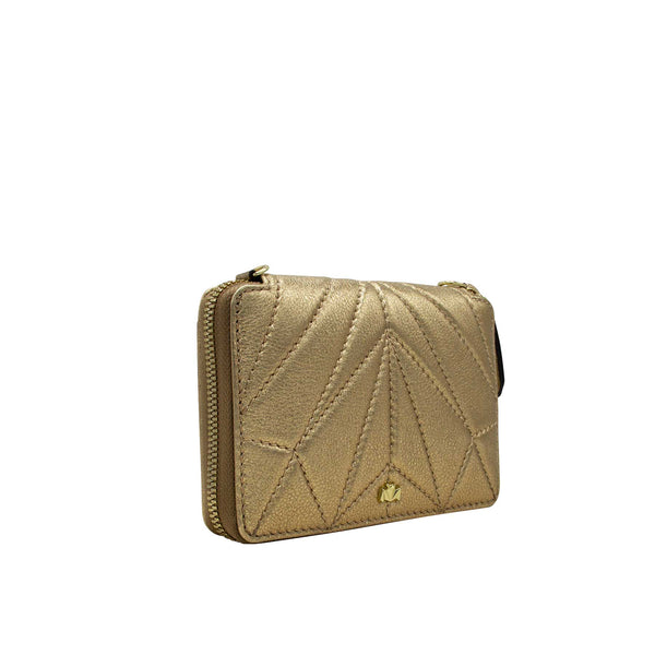 Wallet - One for the Money - gold