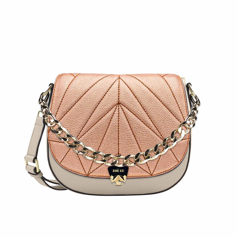 Changeable flap - Kinda Peachy - rosé-metallic
