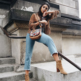 Western-Look mit So Romantic auf Best Buddy in cognac @juliasteyns