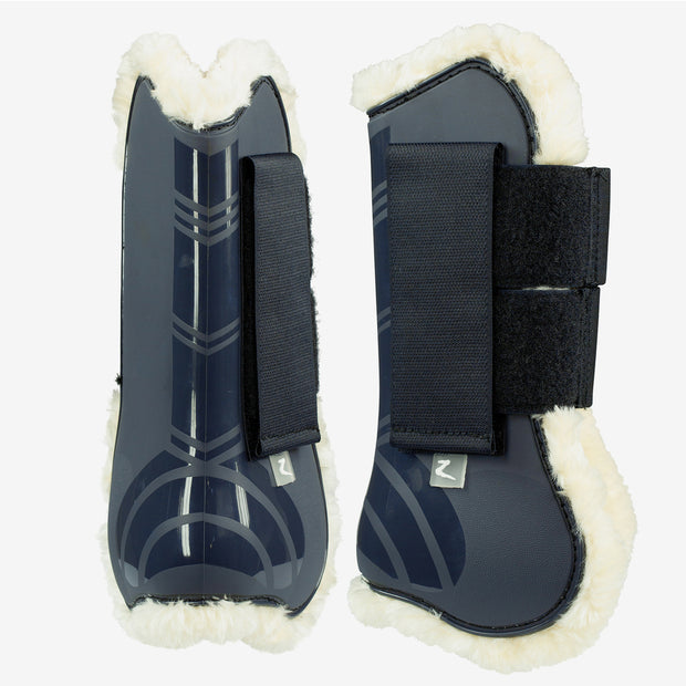 Caliber Faux-Fur Boot Set - Navy, Full