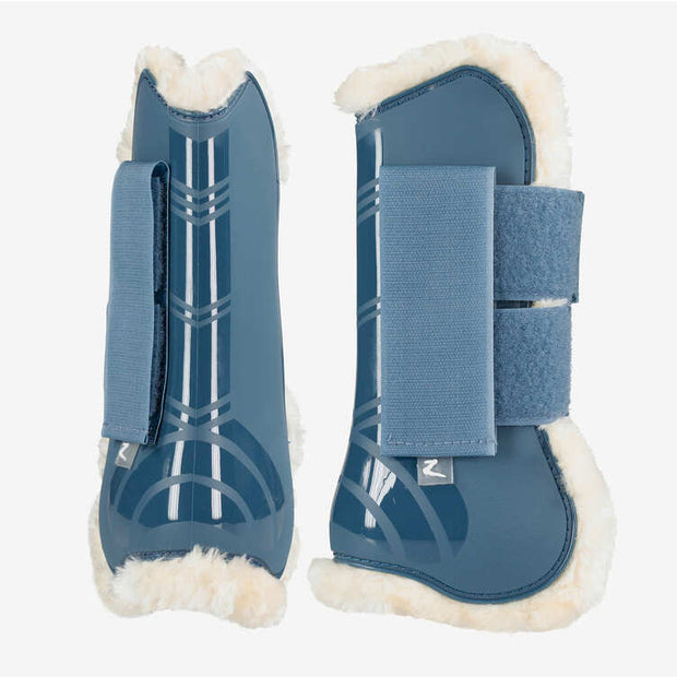 Graz Tendon Boots - Sea Blue