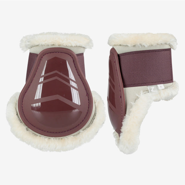 Graz Fetlock Boots - Raisin Brown