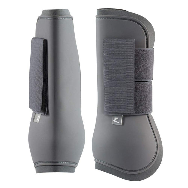Horze Tendon Boots - Charcoal Grey (Cob Size)