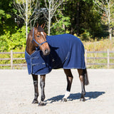 Light Fleece Blanket - Navy