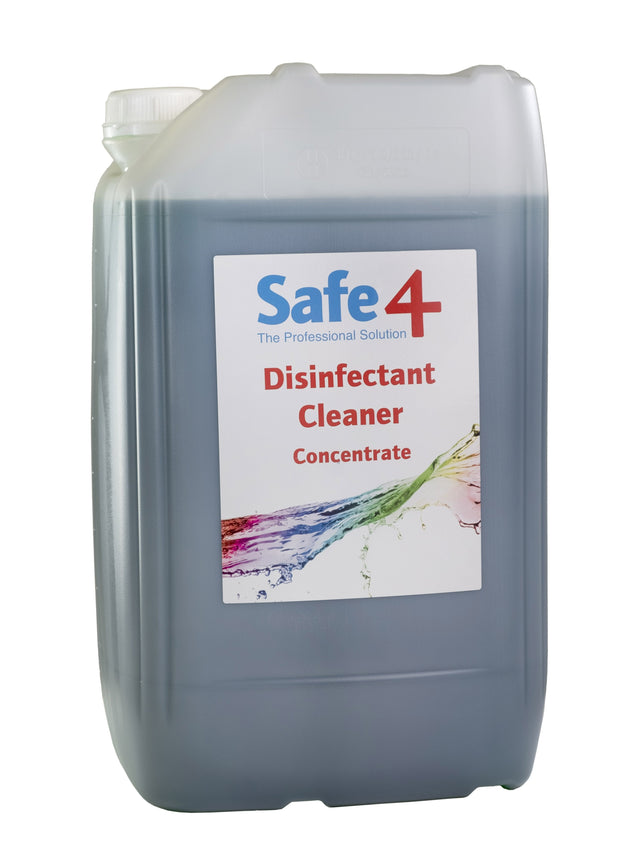 Safe4 Concentrated Disinfectant - Apple, 25L