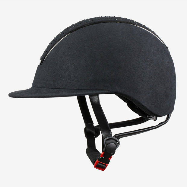 Solara Adjustable Riding Helmet VG1 - Black
