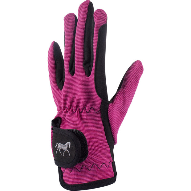 Kids Stretch Gloves - Pink