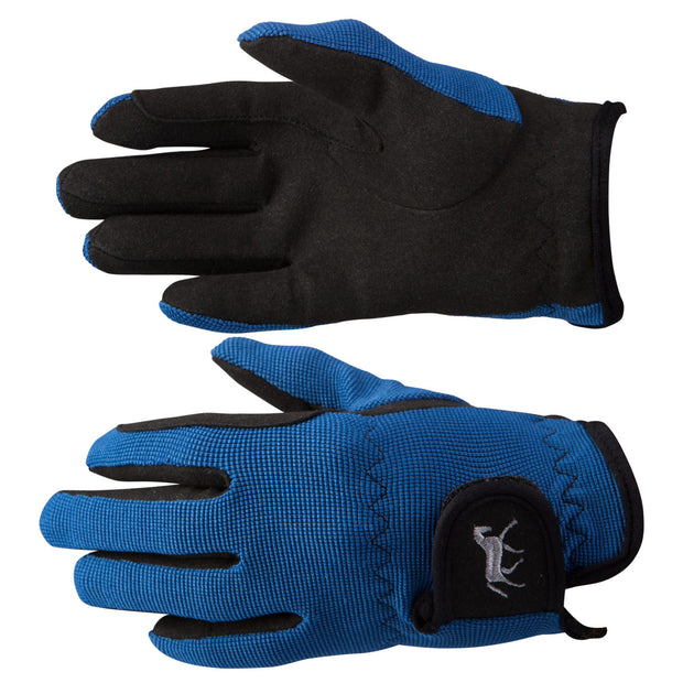 Kids Stretch Gloves - Blue