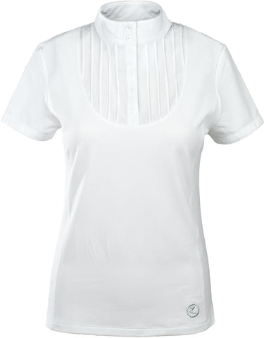 Horze Women's Pleated-Front Technical Shirt