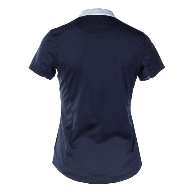 Blaire Short-Sleeved Competition Shirt - Navy Blue