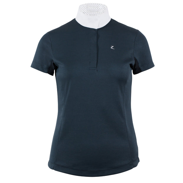 Blaire Short-Sleeved Competition Shirt - Midnight Blue