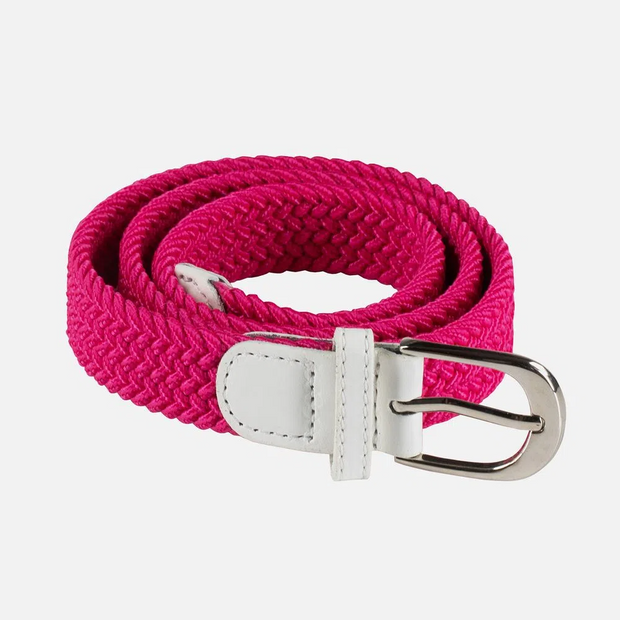 Kid's Unisex Stretch Belt - Pink