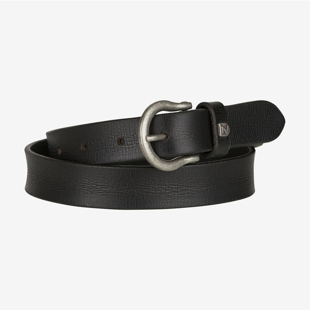 Sierra Narrow Leather Belt