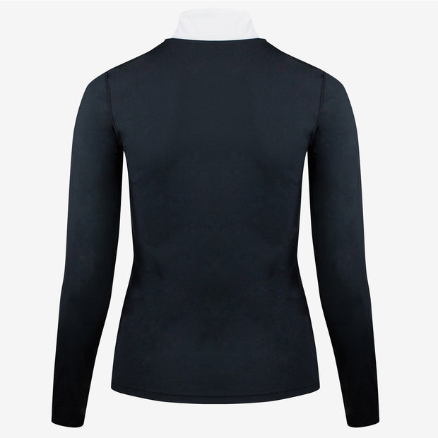 B Vertigo Iris Women's Long Sleeve Shirt - Black