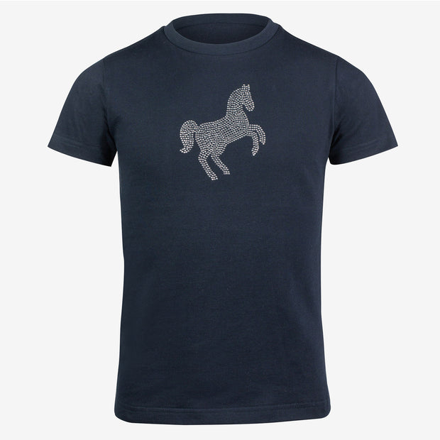 Crystal Horse Kids T-Shirt - Navy
