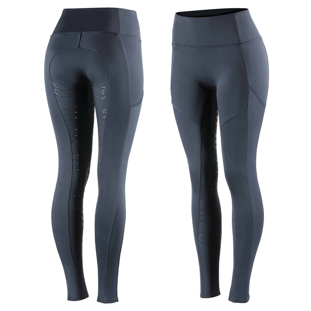 Horze Kira Women's Riding Tights - Navy