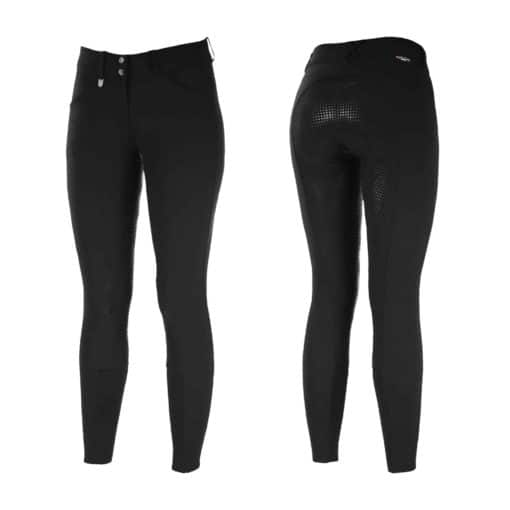 Grand Prix Children's Silicone Full Seat Breeches - Black