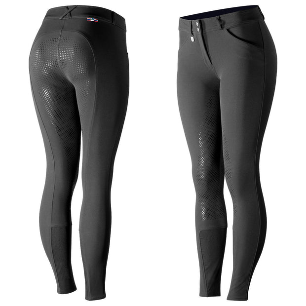 Horze Grand Prix Women's Silicone Full Seat Breech