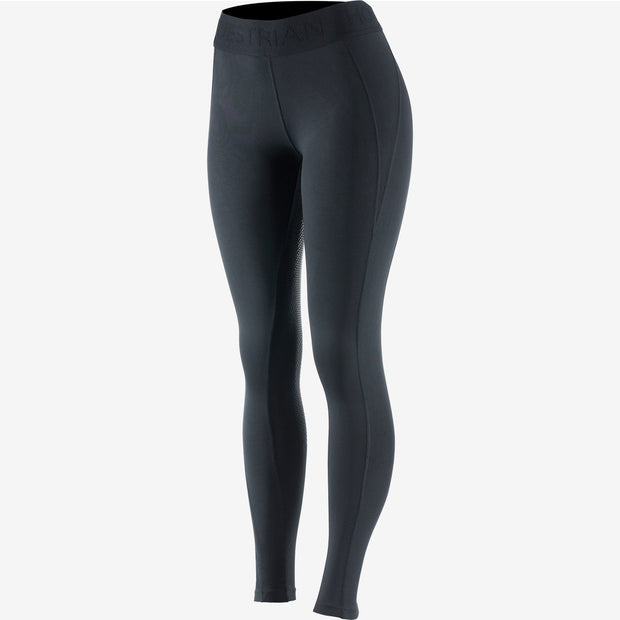 Madison Women's Silicone Full Seat Tights - Black
