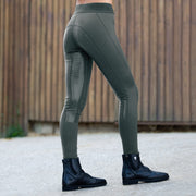 Madison Women's Silicone Full Seat Tights - Lichen Green