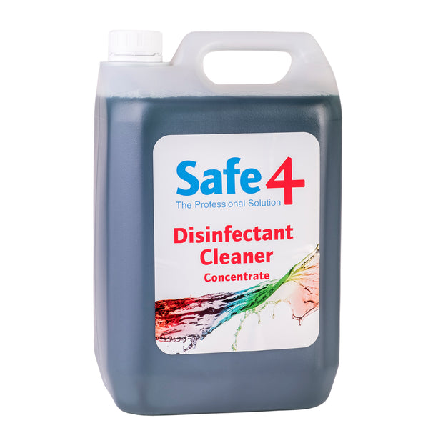 Safe4 Concentrated Disinfectant - Mint, 5L