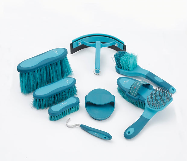 PEI Deluxe Soft-Touch Grooming Kit Set - Peacock