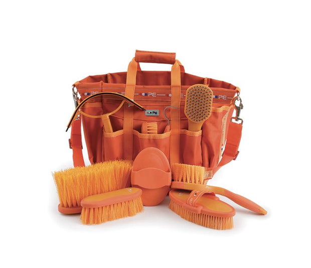 PEI Deluxe Soft-Touch Grooming Kit Set - Orange