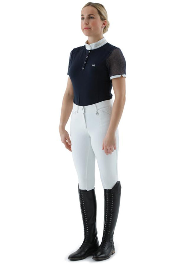 PEI Derami Ladies Show Shirt - Navy