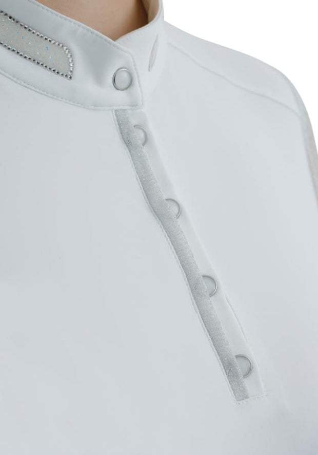 PEI Derami Ladies Show Shirt - White