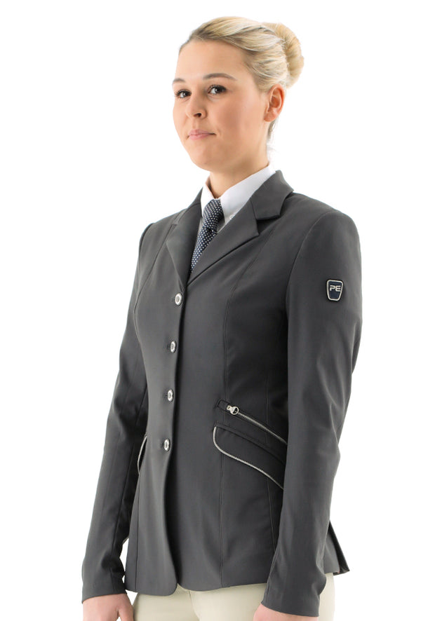 PEI Remina Ladies Competition Show Jacket - Grey