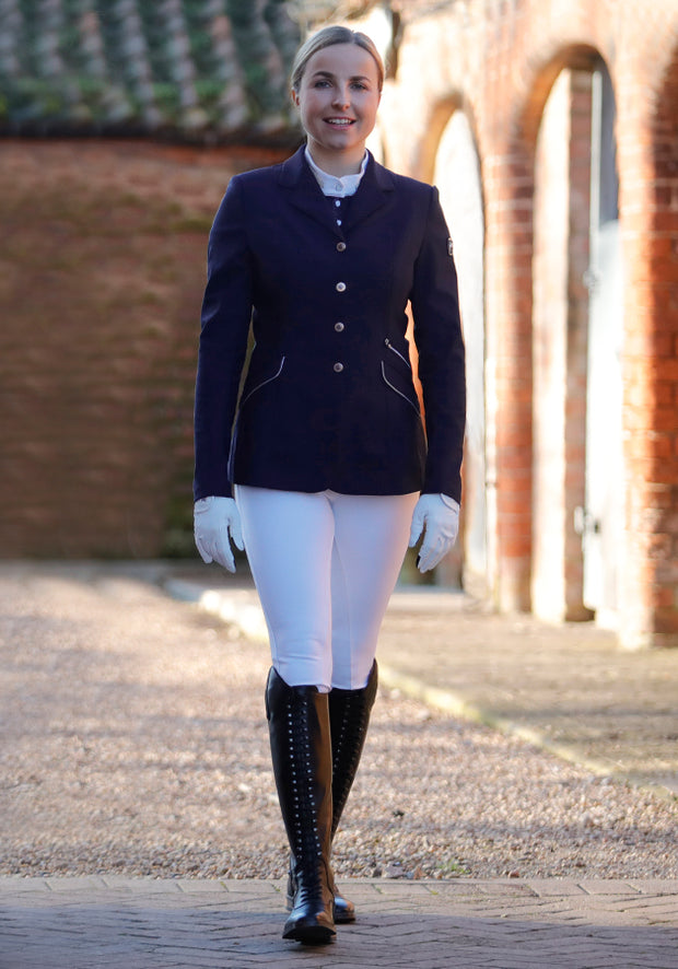 PEI Remina Ladies Competition Show Jacket - Navy