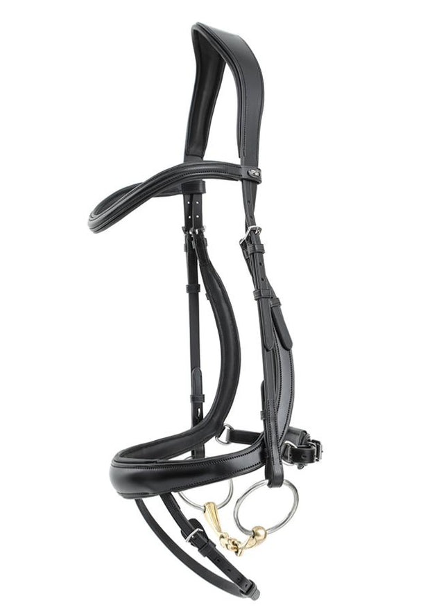PEI Savuto Anatomic Bridle with Crank Noseband