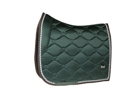 PS of Sweden Saddle Pad Monogram Emerald Dressage