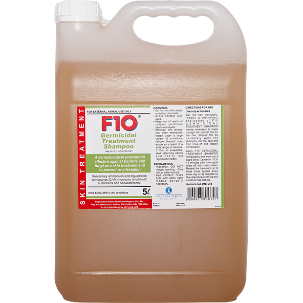 F10 Germicidal Treatment Shampoo