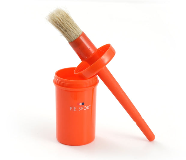 PEI Hoof Oil & Dressing Brush with Container