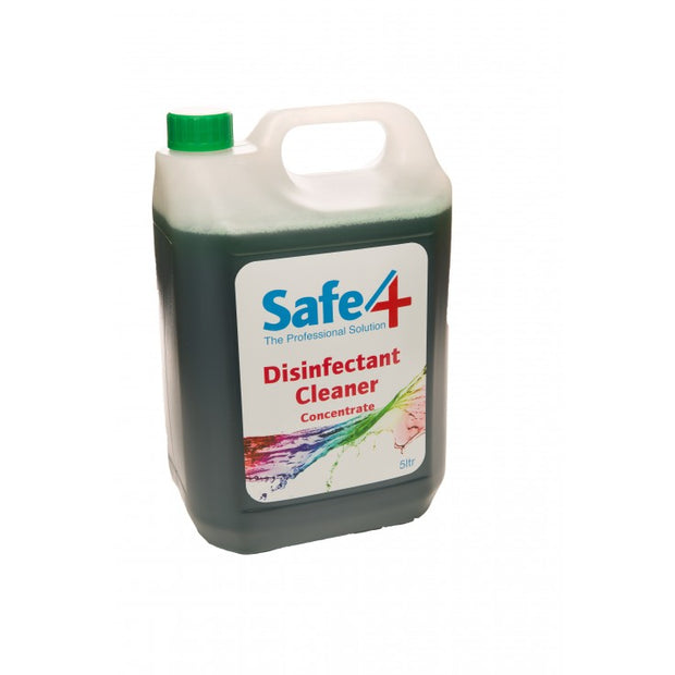 Safe4 Concentrated Disinfectant - Apple, 5L