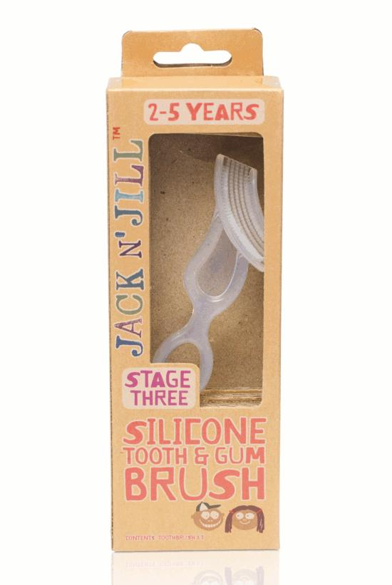 Jack N' Jill Silicone Tooth & Gum Brush - Stage 3