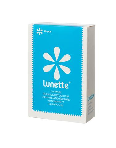 LUNETTE Disinfecting Cup Wipes 10